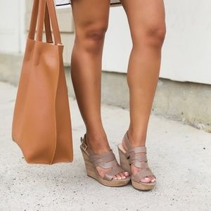 2f35b05f6140 Sole Society Shoes - Sole Society Jenny Wedge Sandals (night taupe)